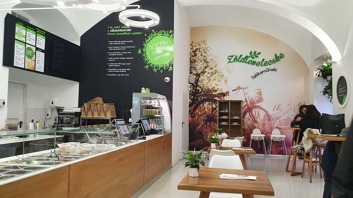 Zöldlevelecske Salátaműhely