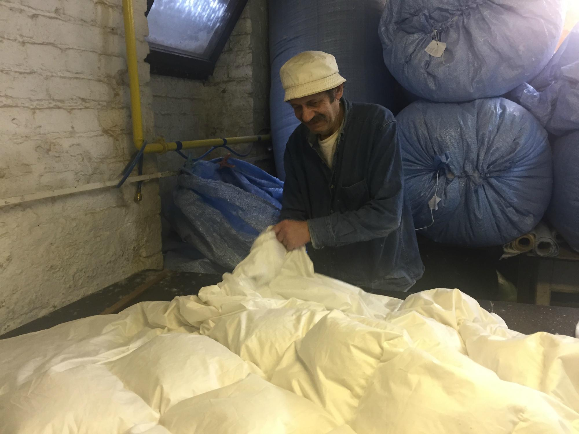 Elfenbein Comforters